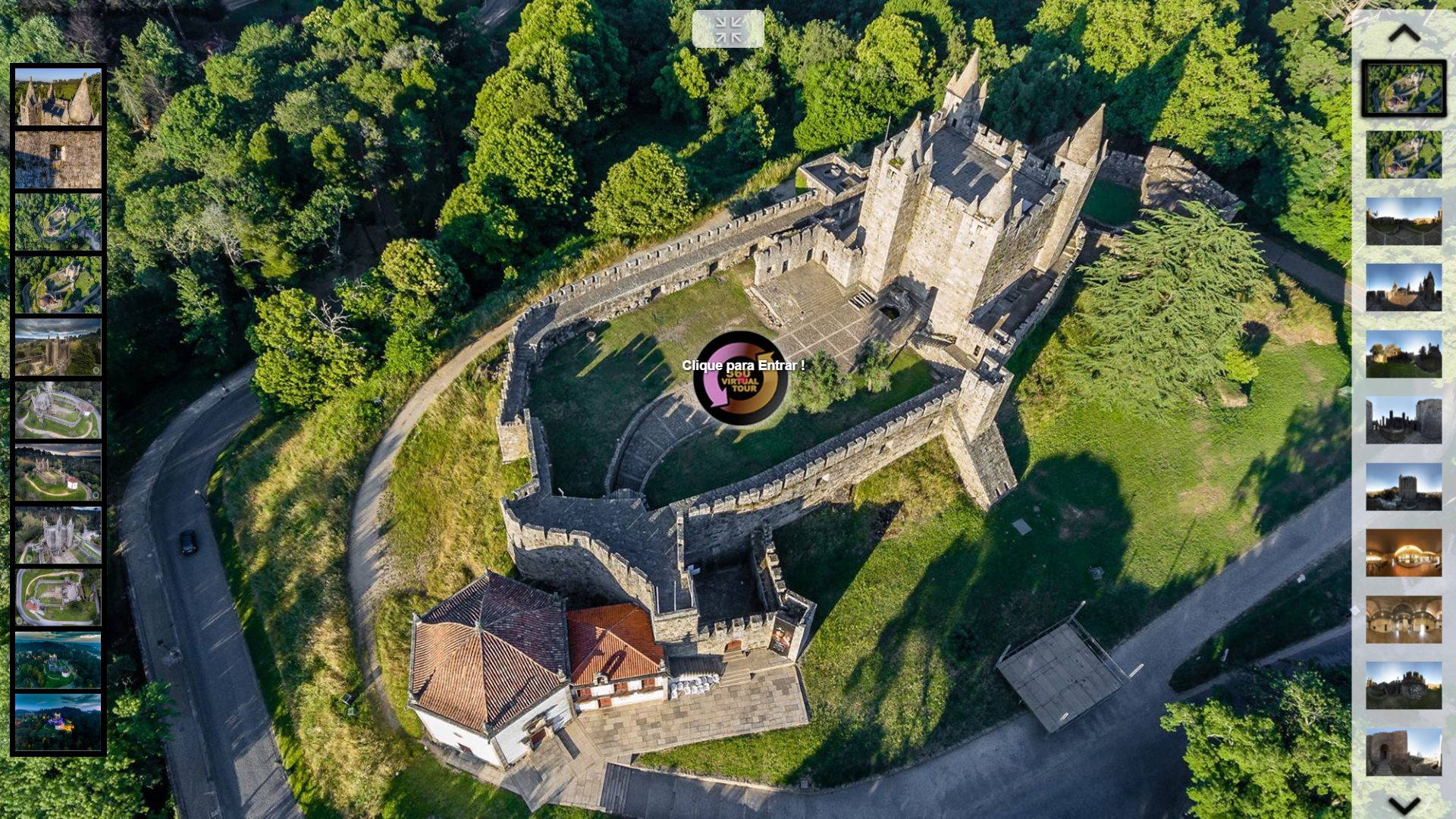 Virtual Tour do Castelo de Santa Maria da Feira