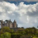 Panorâmica do Castelo da Feira